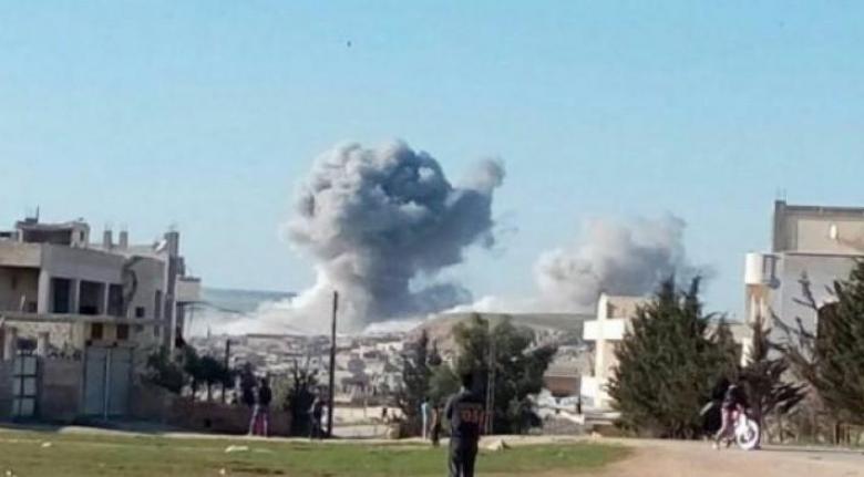 قصف أميركي يستهدف النظام السوري بالبوكمال