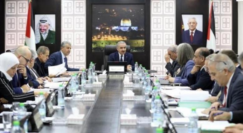 قرارات حكومة رام الله في جلستها الأسبوعية
