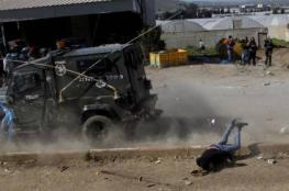 إصابة مواطن جراء دهسه من قبل جيب إسرائيلي بقلقيلية