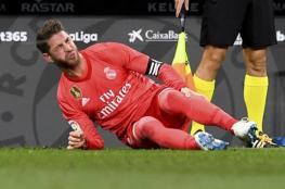 إصابة راموس تصدم ريال مدريد بعد التشخيص الطبي