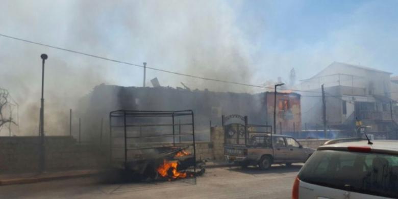 """إصابة 8 مستوطنين بالاختناق باندلاع حرائق داخل """"إسرائيل"""""""