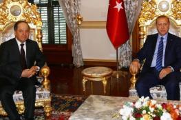 أردوغان والبارزاني يبحثان بإسطنبول أزمات المنطقة