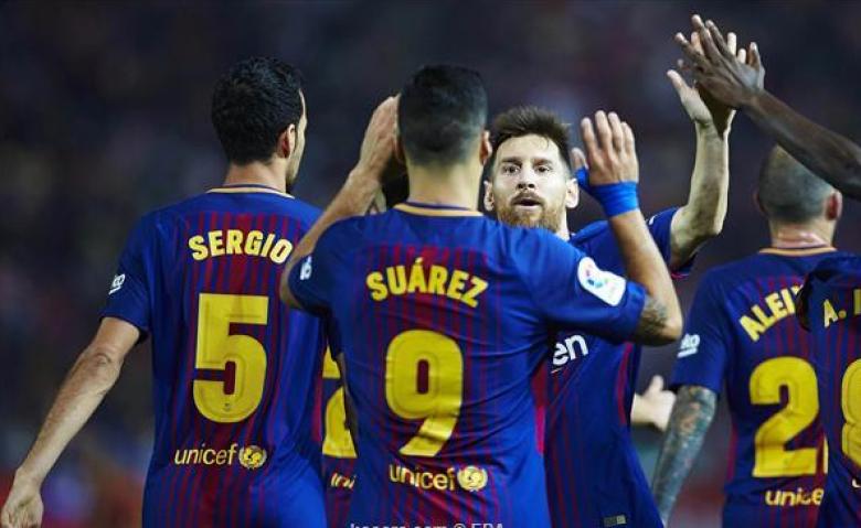 برشلونة لم يذق طعم الخسارة في البرتغال منذ 30 عاما