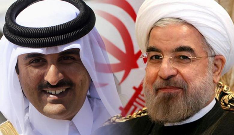 روحاني لأمير قطر: لا حل عسكرياً للأزمة اليمنية.. وحصار دولتكم ظالم