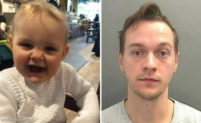 السجن مدى الحياة لبريطاني قتل طفلة بعد تبنيها بأسبوعين