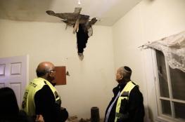 """هذا ما فعلته صواريخ المقاومة بمنزل بـ""""سديروت"""""""