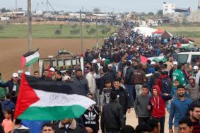 74 إصابة جراء قمع الاحتلال للمشاركين في مسيرات العودة