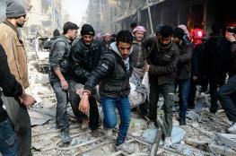 قتلى بقصف للنظام بدوما وغارة روسية بإدلب