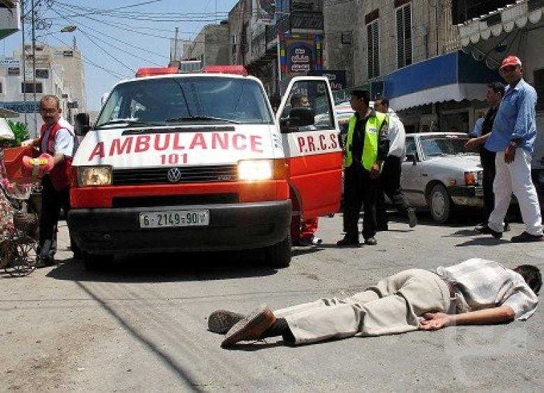 7 إصابات في حادث سير وسط قطاع غزة