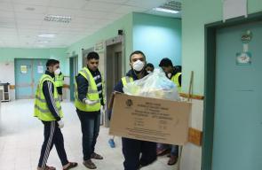 مجهودات شبابية لتنظيف مستشفى شهداء الأقصى
