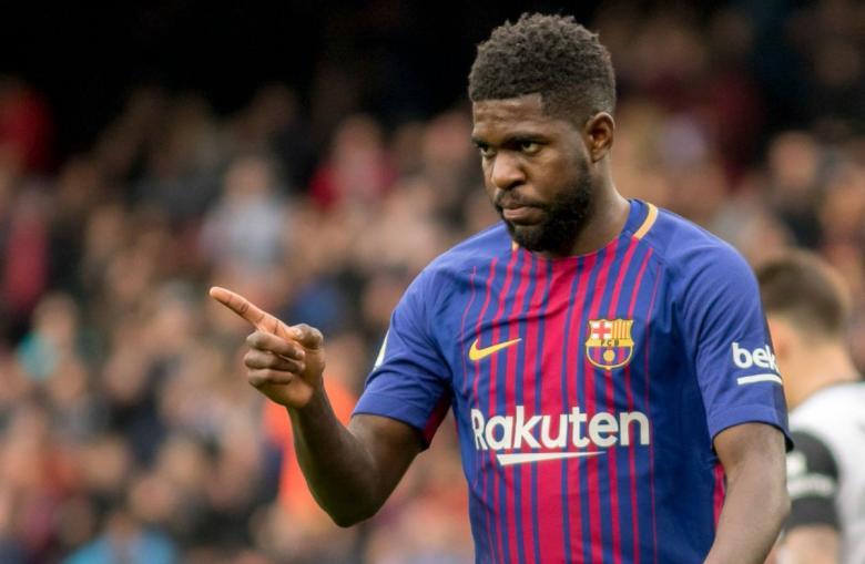 أومتيتي يغيب عن برشلونة لأجل غير مسمى