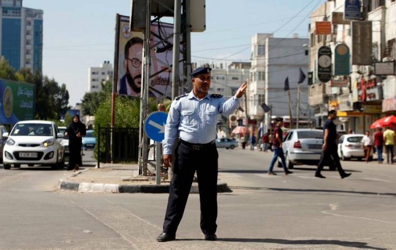 الحركة المرورية في قطاع غزة