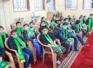 الكتلة الإسلامية تكرم الطلبة المتفوقين في دير البلح