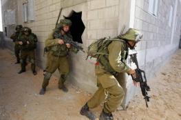 جيش الاحتلال يجري مناورة عسكرية في الضفّة