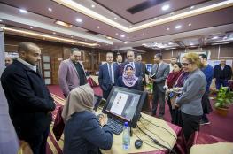 الكلية الجامعية تستقبل وفدا رفيع المستوى من البنك الدولي