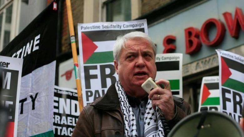 منع رئيس الحملة البريطانية للتضامن مع فلسطين من دخول الأراضي المحتلة