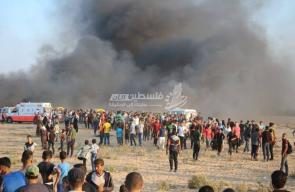 مواجهات جمعة انتفاضة القدس شرق رفح