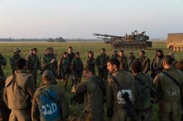 مناورات لجيش الاحتلال في غلاف غزة غدا