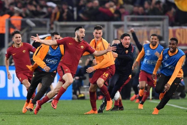 تحديد موقف نجم روما من مواجهة ريال مدريد