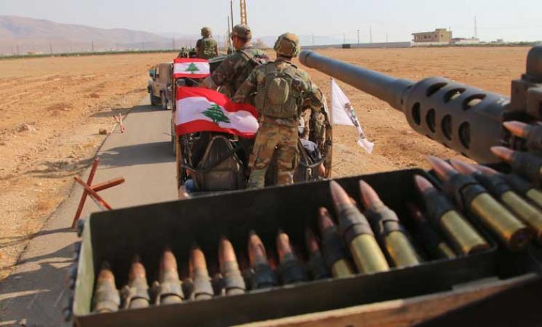 """الجيش اللبناني يعلن بدء المعركة لطرد """"داعش"""""""