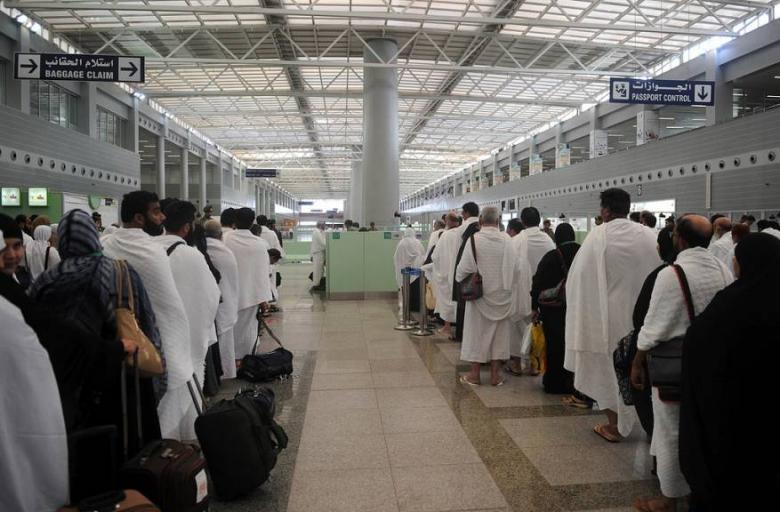وصول ما يقرب من مليون حاج إلى السعودية
