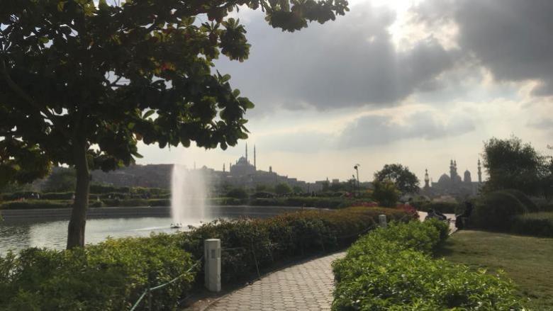 حديقة الأزهر.. مقلب القمامة الذي صار متنزه القاهرة