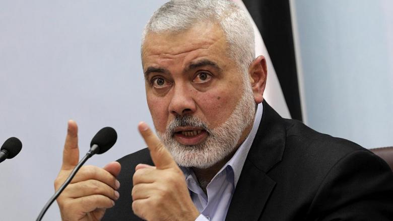 هنية: عباس غير جدي بالمصالحة ويريد التخلص من غزة