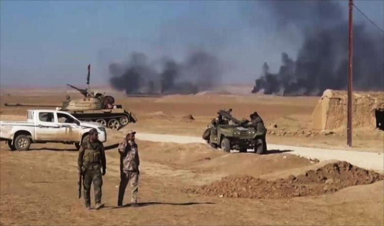 تنظيم الدولة يهاجم لاستعادة مناطق غرب الموصل