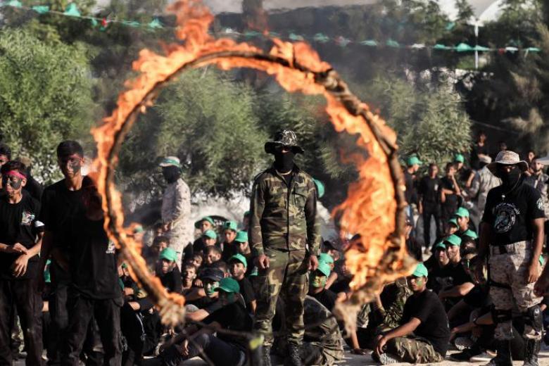 حماس تختتم مخيماتها الصيفية في خانيونس