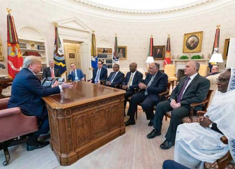 بحضور ترامب.. استئناف اجتماعات تشغيل «سد النهضة» في أمريكا