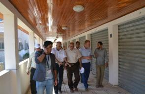 بلدية النصيرات تستعد لافتتاح السوق المركزي
