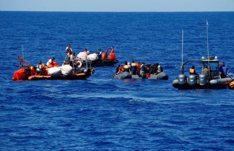 أكثر من مئة مفقود قبالة سواحل ليبيا بعد غرق قارب