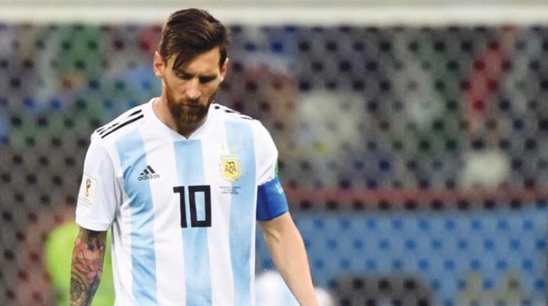 ميسي يُدير ظهره مجددًا لمنتخب الأرجنتين