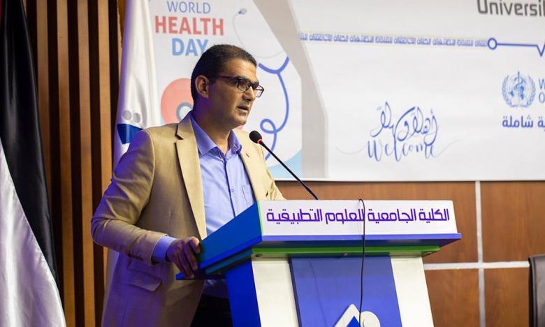 قسم التمريض وعلوم الصحة بالكلية الجامعية يحيي يوم الصحة العالمي