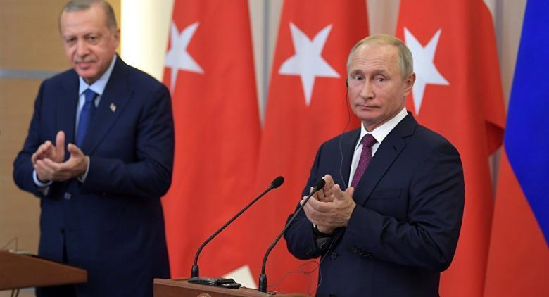 بوتين: توصلنا مع أردوغان لحل جدي ومتفق عليه بشأن إدلب