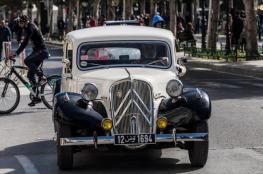 سيارات الخمسينيات تعود لتونس العاصمة
