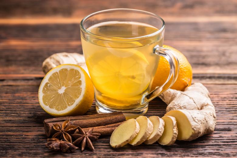 شاي الزنجبيل لمعالجة ارتفاع ضغط الدم