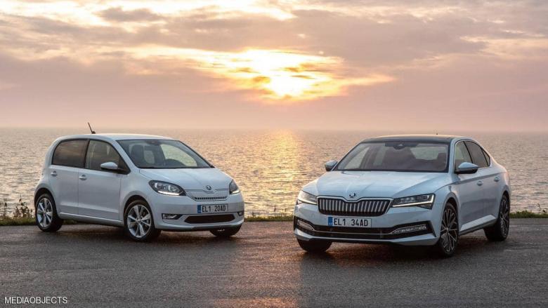"""منافس جديد في عالم السيارات الكهربائية.. """"سكودا"""" تطرح طرازين"""
