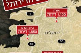 مخطط لبناء 28 ألف وحدة استيطانية بالقدس والضفة