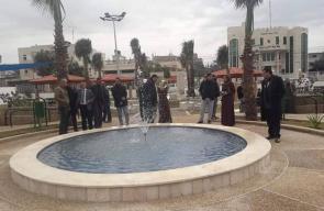بلدية الزوايدة تنتهي من إنشاء حديقة القرية