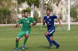 8 مباريات تُقام في دوري غزة اليوم