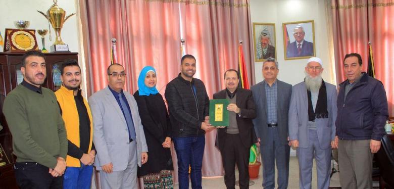 """جامعة الأقصى توقع اتفاقية تعاون لإطلاق برنامج """"تميز"""" السادس في قطاع غزة"""