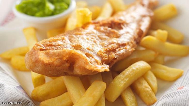 """أشهر وجبة طعام في بريطانيا مهددة بـ""""الزوال"""""""