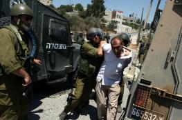 الاحتلال يعتقل مواطنين بنابلس
