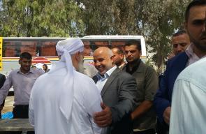 اللواء أبو نعيم يتفقد سفر الحجاج على معبر رفح