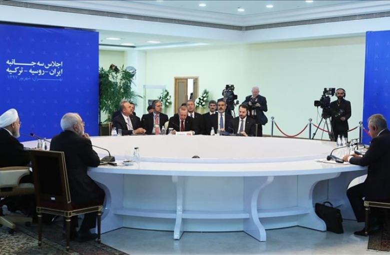 اختتام أعمال قمة طهران الثلاثية حول سوريا