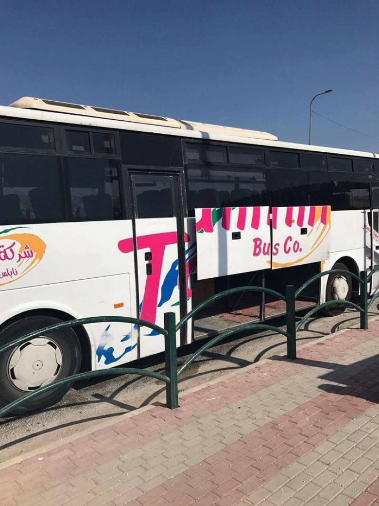 الاحتلال يزعم: صادرنا حافلات شركة التميمي لدعمها حماس
