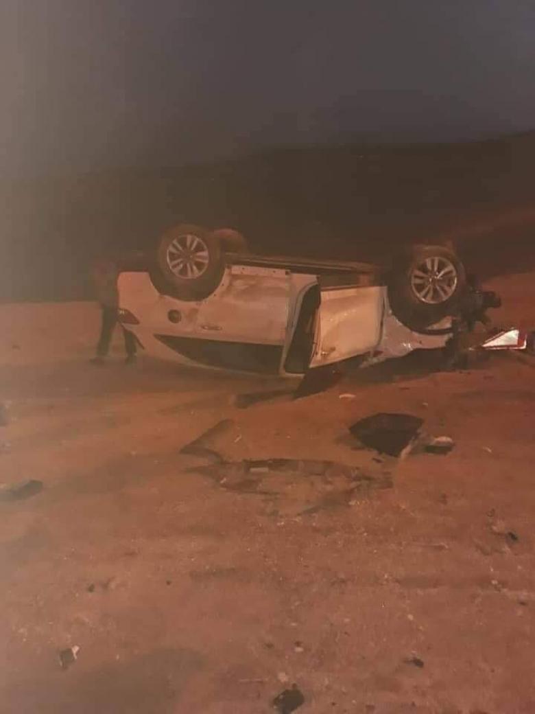 مصرع مواطن وإصابة آخر بحادث سير في رام الله