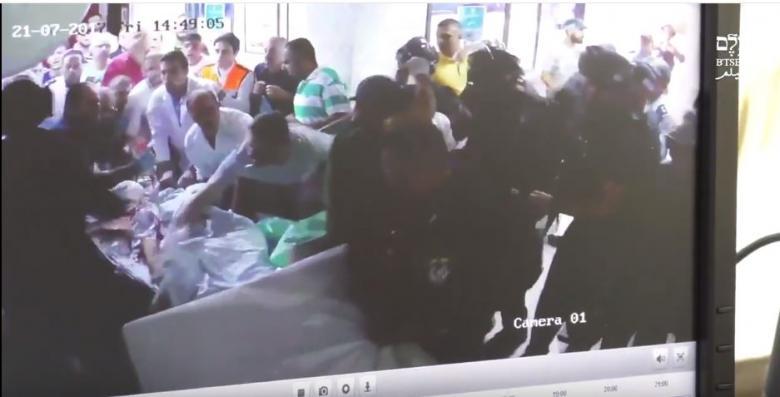 كيف اقتحم الاحتلال مشفى المقاصد وماذا فعلوا بأحد المصابين؟