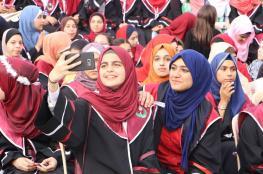 الكتلة تكرّم 10000 طالبة بغزّة